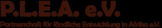 Logo PLEA e.V.